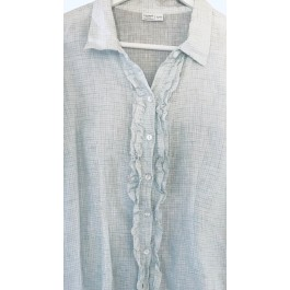 Linseed Designs linen shirt - Vega micro check